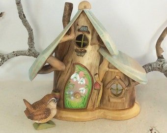 Willodel Snowdrop & Forget-me-Not Cottage With Furnishings
