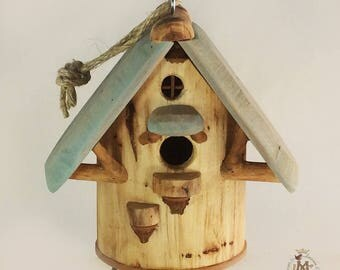 Willodel Natural Songbird House for Common Small Birds