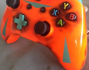 Neon jason friday the 13th xbox one controller