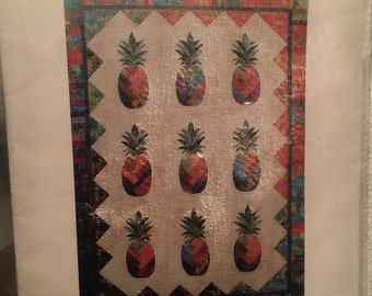 Sunshine pineapple quilt