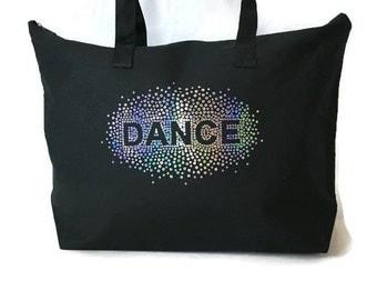 Sequin Dance Bag-Black-Dance Bag-Christmas Gift-Bling-Sparkle-Recital Gift