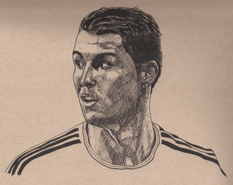 Cristiano Ronaldo original illustration
