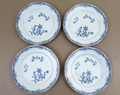 Rorstrand Sweden 4 BREAD & BUTTER PLATES - Ostindia East Indies - ca 1940s