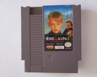 HOME ALONE 2: Lost in New York --Vintage Nintendo (NES)--  Works