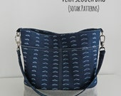 Vera Slouch Bag, instant download, bag pattern, pdf pattern, sewing, chic, patterns, sew, bag, zipper pocket, sotak patterns, sewing, diy