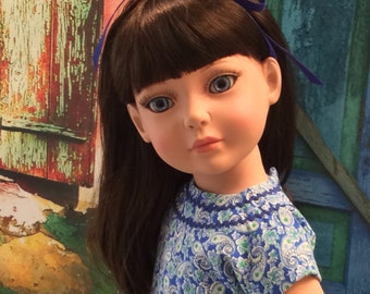 """American Made 18"""" Doll Clothing Will Fit Girl Dolls Like Robert Tonner's """"My Imagination™"""" 1950's Reproduction Sundress"""