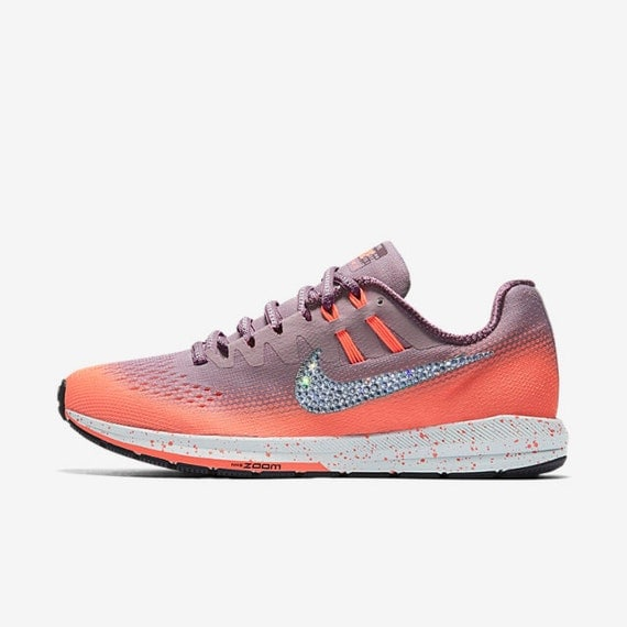 60%OFF Crystal Nike Air Zoom Structure 20 Shield Bling by SparkleNvie 62c9445862