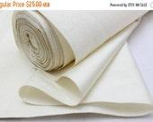 SALE (ends 14th) Undyed Silk Bolt. Natural Fabric. Japanese Vintage Kimono Silk (Ref: 111)