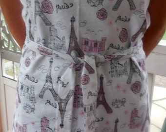 Paris Apron-Reversible-Free Shipping to US and Canada