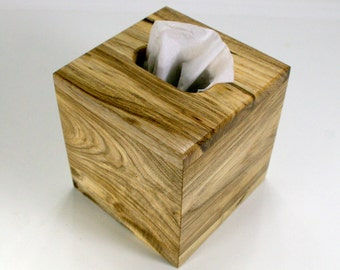 """The BlackWater TBC - Hackberry Tissue Box Cover - """"Cube Style"""""""
