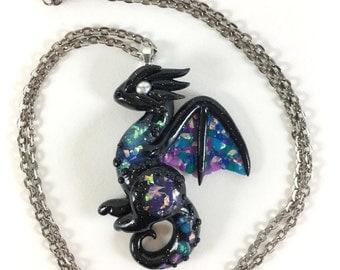 Galaxy Dragon Necklace
