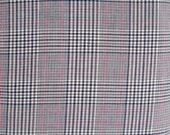 Lyella Beige Gray Plaid Fabric