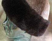 Sea and River Otter Real Fur Cap Hat