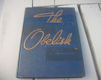the obelisk yearbook 1939 carbondale illinois normal university