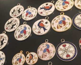 Hoffman dead stock pendants  choose 4