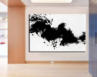 XL Abstract Painting / Original   Palette Knife Painting. /  Modern Art / Large Painting / Oversized Painting