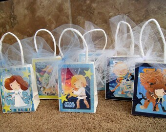 Star Wars Party Favor Bags - Set of Six