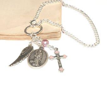 Saint Agatha Chain - Saint On A Chain / Patron Saint of Breast Cancer