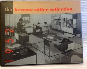 The Herman Miller Collection, 1952 Acanthus reprint Edition,  1995.  Modern Design Hardcover Book.   Mid century modern. Eames era.