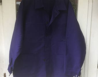 French bleu de travailes work jacket
