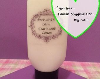 Lanvin Oxygene type Goat's milk lotion