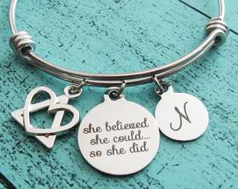 adoption gift, adoption jewelry bracelet, adoption announcement, baby shower gift, new mom gift congratulations, foster mom gift, gotcha day