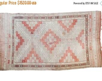 10% OFF RUG SALE Discounted 5.5x9.5 Vintage Jijim Carpet