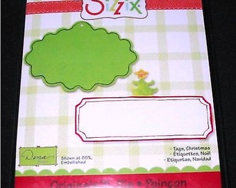 Sizzix Originals CHRISTMAS TAGS Die Cut - 655535