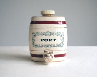 miniature wade royal victoria pottery port home bar