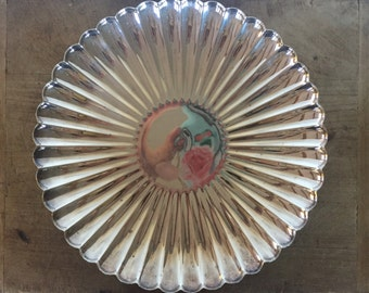 Vintage silver plate server / tray / platter