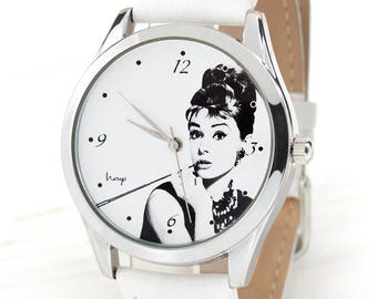 Audrey Hepburn Watch | Classical Women Watches | Retro Style Women's Watch | Women Watch | Wrist Watch Woman | Women Gifts | FREE SHIPPING