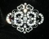 Camrose Kross Jackie Kennedy JBK Art Nouveau Brooch