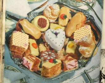 1950s Cake Making vintage recipe book Good Housekeeping's Picture Cake Making