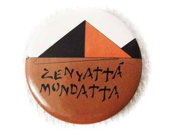 The Police Zenyatta Mondatta Pinback Button Round Pin 1980's Classic Rock Music Pop Pinback Metal Tin Pin Sting The Police