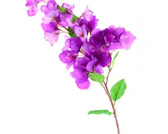 Bouganville Artificial Branches Set of 3 Violet