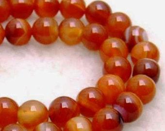 38 AGATE Gemstone Beads 10mm - COD4777