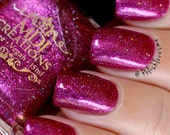 New! Sultry from the Sexy Collection, a pink with flakies, holo and colorshift