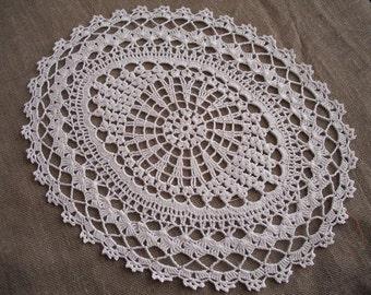 Crochet Table Runner cotton home decor Lace crochet doily table runner rectangle doily NEW