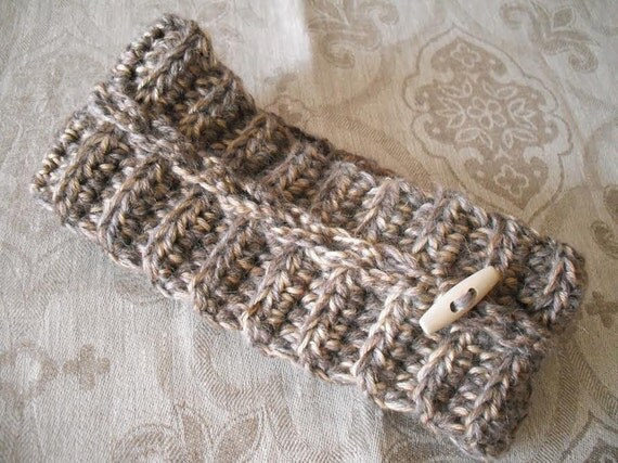 Knit warm headband knitted cable knit ear warmer Fashion fall style cozy