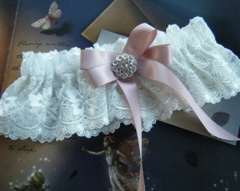 Romantically Feminine White Garter