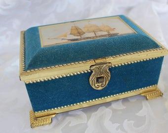 Vintage Blue Bird Confectionery Limited - West Midlands England - Nautical Decor