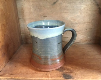 Celtic Shore Beach Coffee Mug Cup by Village Pottery PEI