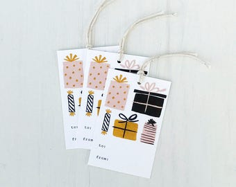 Pretty Presents Gift Tags