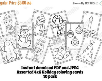 Coloring cards  Etsy