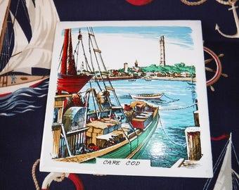 Cap Cod Tile/Trivet Screencraft West Yarmouth, Mass