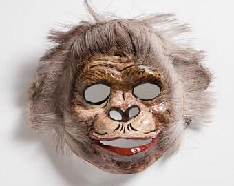 chimpanzee paper mask