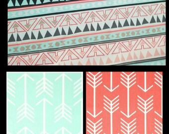 Diaper bag, handbag, purse, book bag..Aztec N Arrows..Add a name, choose a font. Customize yours now.