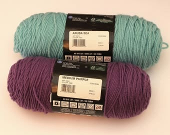 Red Heart Super Saver Acrylic Yarn choose a color