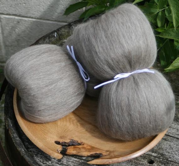 Masham / Baby llama / Honey Tussah Silk Smooth Batts - 135g