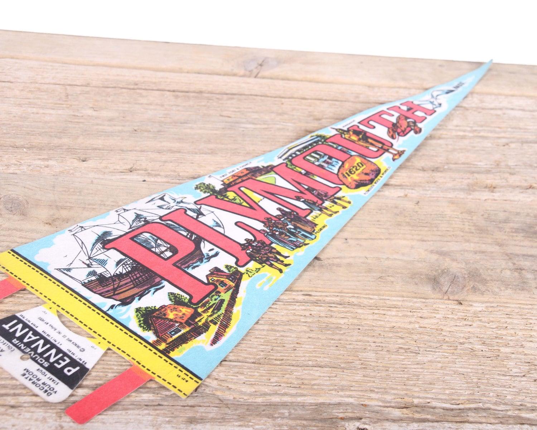 Vintage uva felt banner